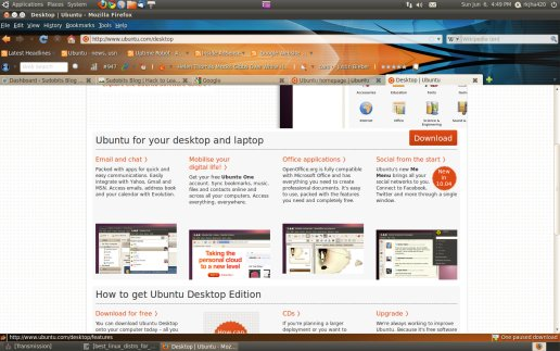 Ubuntu 10.04 : firefox for fast and safe browsing