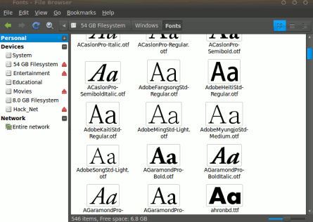 install windows fonts to ubuntu 10.04