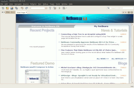 developing software by using netbeans