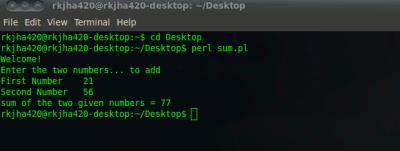 first program in perl with ubuntu 10.04