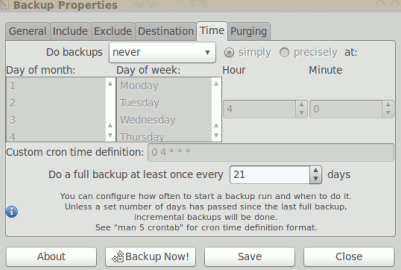 simple backup config for ubuntu 10.04