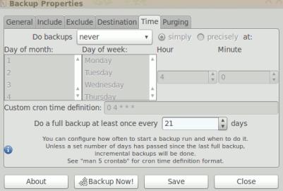 simple backup config for ubuntu 10.04