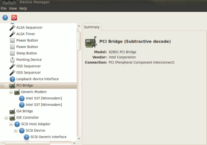 hardware details in ubuntu 10.04