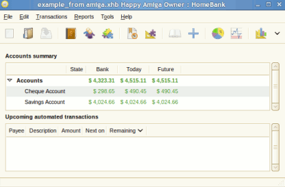 ubuntu accounting software | home-bank