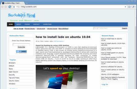 install Chromium in ubuntu