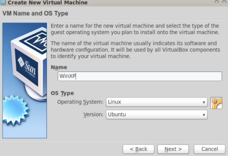virtual-box on ubuntu 10.04
