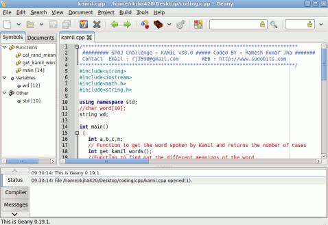 web development tools for ubuntu - Geany