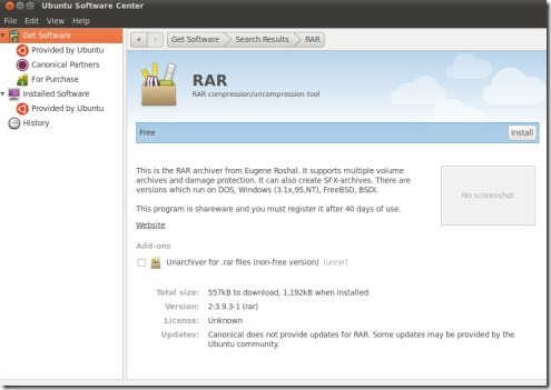 how to open RAR file on Ubuntu 10 10 | SUDOBITS – Free and Open