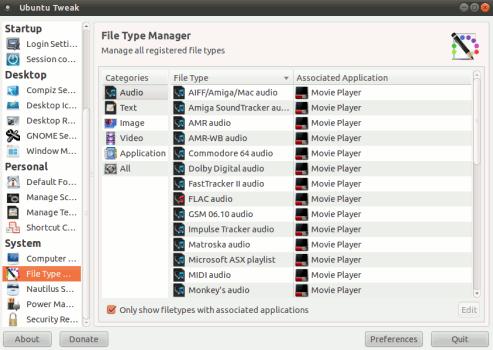 how to tweak ubuntu using ubuntu tweak