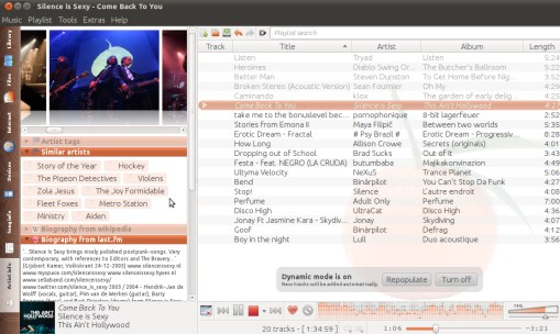 Clementine Media Player on Ubuntu