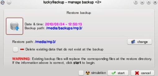 backup software for ubuntu 10.10