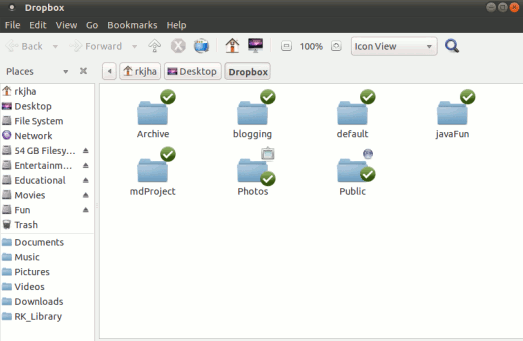 Dropbox on Ubuntu 10.10