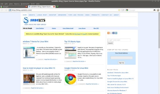 firefox 4 for ubuntu 10.10