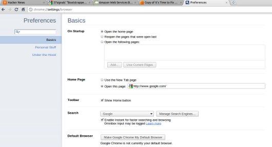 google-chrome-preferences