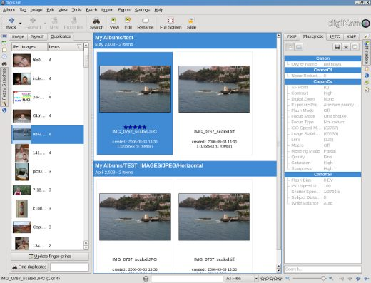 Digicam - Open Source Graphics Software