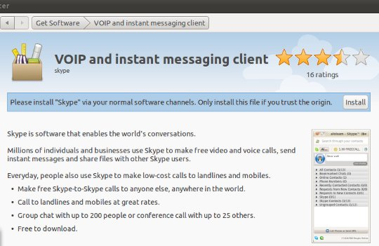 how to install Skype on Ubuntu 11 04 | SUDOBITS – Free and