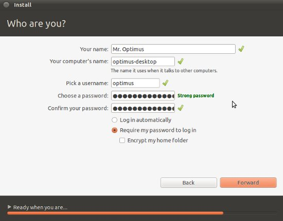 login-information-ubuntu