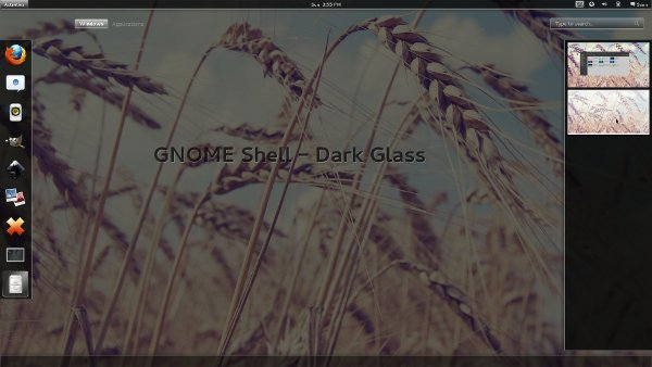 dark-glass-theme