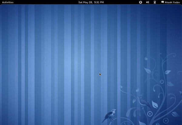 Fedora 15 with Gnome 3.0