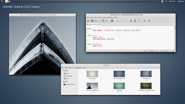zukitwo-theme with Ubuntu