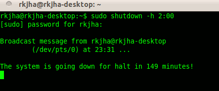 automatic-shutdown-ubuntu