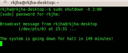 automatic-shutdown-ubuntu