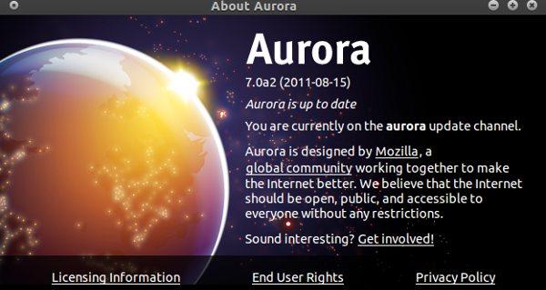 firefox aurora 7.0a2