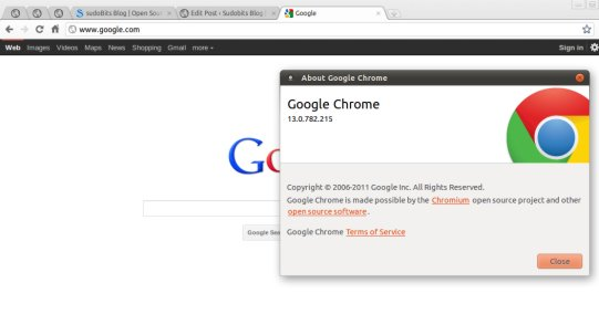 google-chrome-13-snapshot