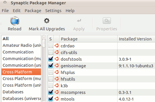 synaptic-package-manager