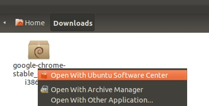 install chrome on Ubuntu 12.04