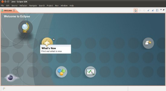 eclipse for ubuntu 11.10