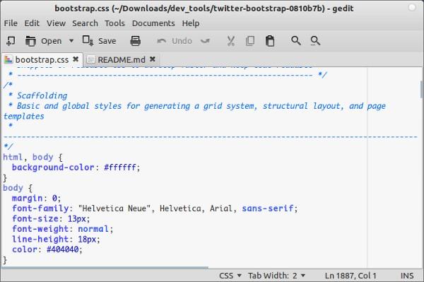gedit-text-editor