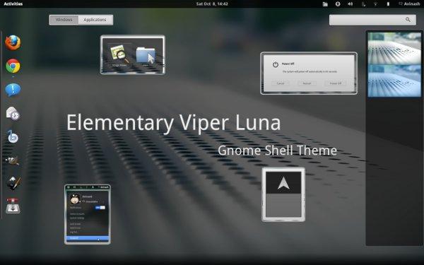 Elementary luna-shell-theme