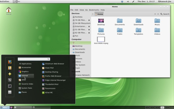Gnome shell Themes for Linux Mint