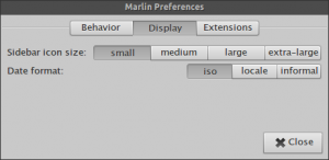marlin-preferences