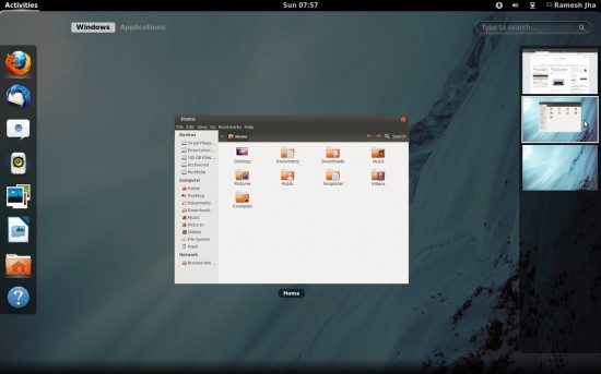 gnome-shell-Desktop