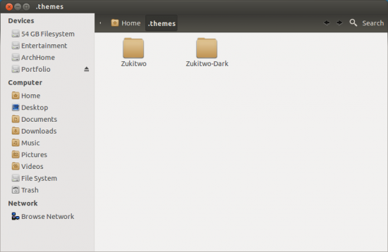 installing Gnome themes