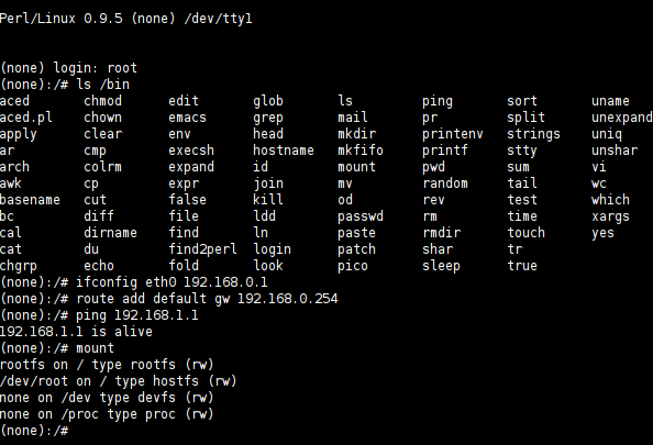 Perl/Linux