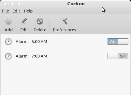 Cuckoo : Alarm App