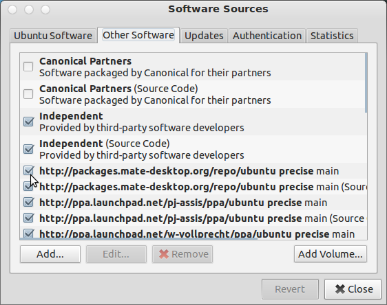Removing a PPA from software-sources