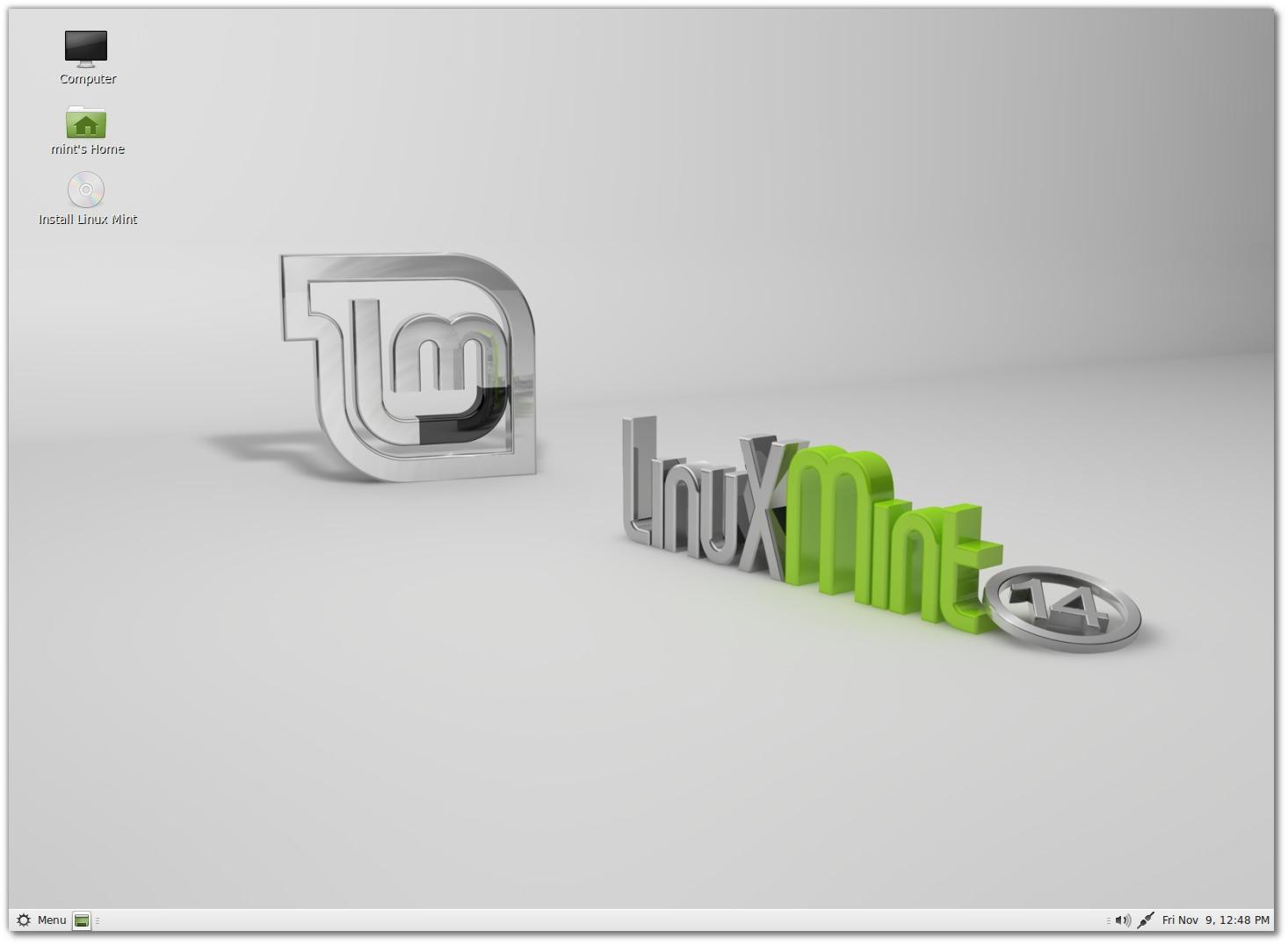 Linux Mint 14 : with Mate Desktop