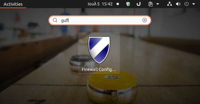 Firewall-GUFW